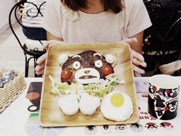 Kumamon Café ~ 最有靈魂的主題餐廳 @ apm一田