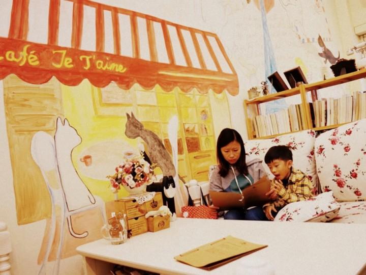 隱世貓貓Cafe非常嘆 @ 上水「Cafe Je T'aime」