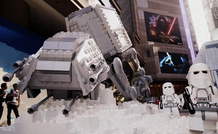 【Lego好精彩】咁樣先係StarWars呀! @Times Square