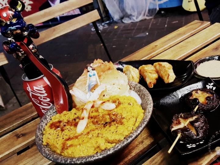 【街坊廚神真‧銷魂】神級串燒+激爆多多多蟹膏飯
