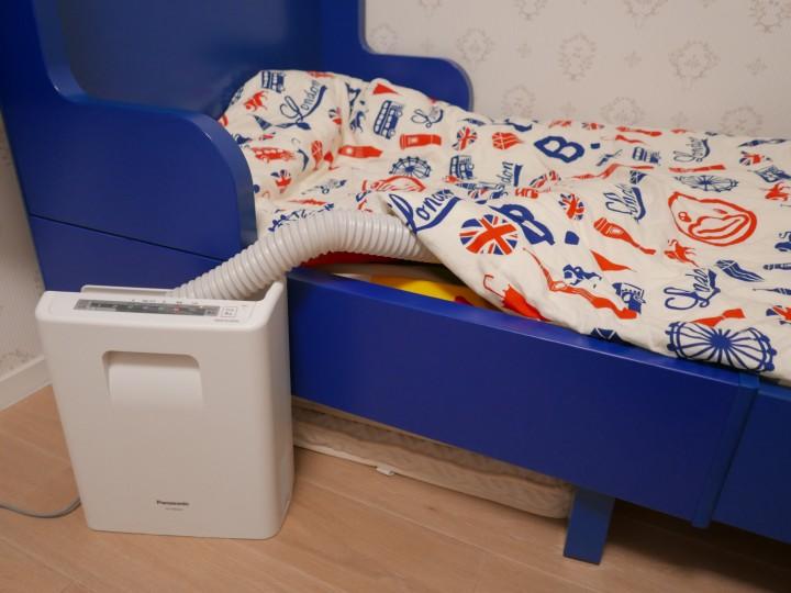 【機仔細細,用途多多】洗床褥、洗鞋、除塵蟎好幫手--Panasonic曬被寶