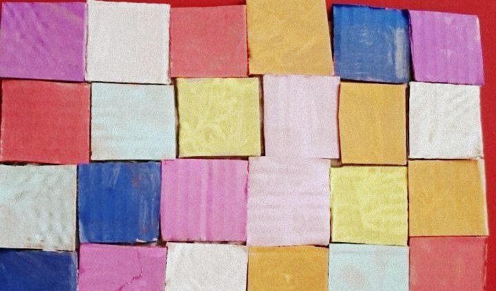 紙皮馬賽克(Mosaic)