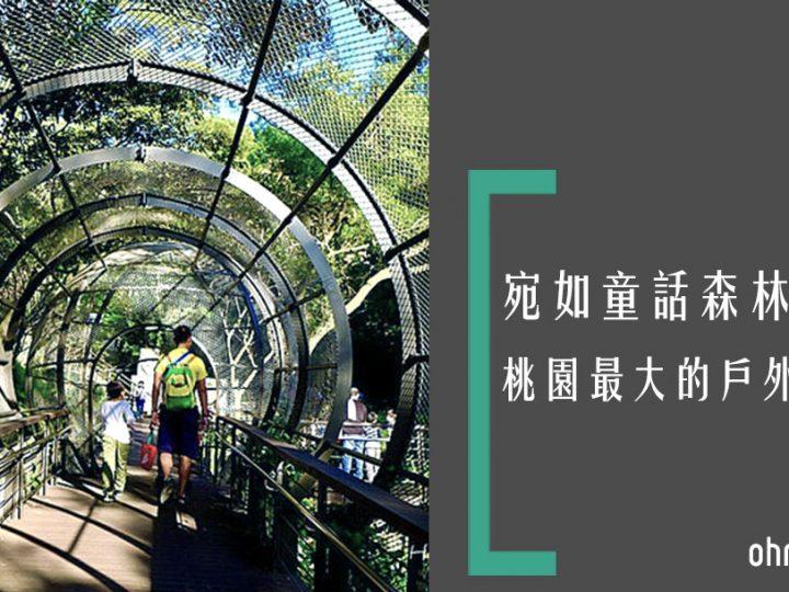 [桃園親子景點]貓頭鷹樹屋玩樂趣!親親自然森林步道