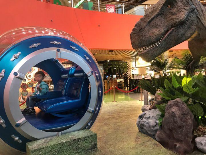 【限時活動】九龍灣 「Jurassic World@MegaBox香港站」(全港首個大型裝置)